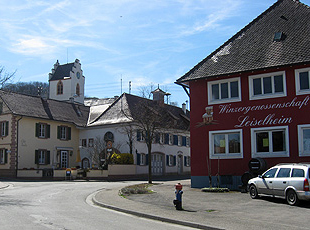 Dorfplatz in Leiselheim